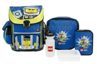 Раница Active School Bag Set City Police