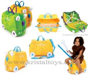 Trunki - Детски куфар 3 в 1 Ride-on DELUXE Rox Limited Edition