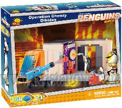 "Конструктор Операция ""Cheezy Dibbles"" Cobi The Penguins of Madagascar 26152"