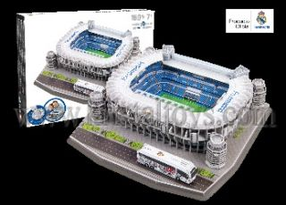 3D Пъзел Стадион Сантяго Бернабео Santiago Bernabeu - Real Madrid