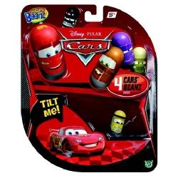 Mighty Beanz - CARS бобчета 4 броя
