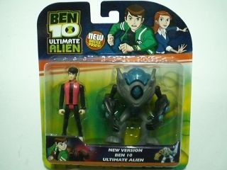 Ben 10 Ultimate Alien - Ultimate Swampfire & Kevin Levin
