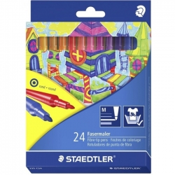 Флумастри Щадлер Staedtler Noris Club 325, 24 цвята
