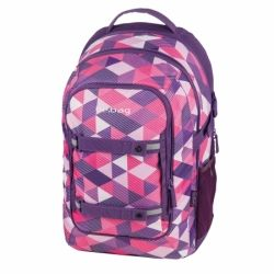 ХЕРЛИТЦ Herlitz - be.bag Beat Ученическа раница Purple Checked