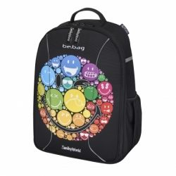 ХЕРЛИТЦ Herlitz - be.bag Airgo Ученическа раница Smiley Rainbow