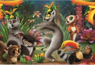 Пъзел All Hall King Julien 104 части