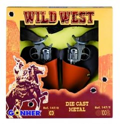 GONHER Wild-West Мини револвер 2 броя